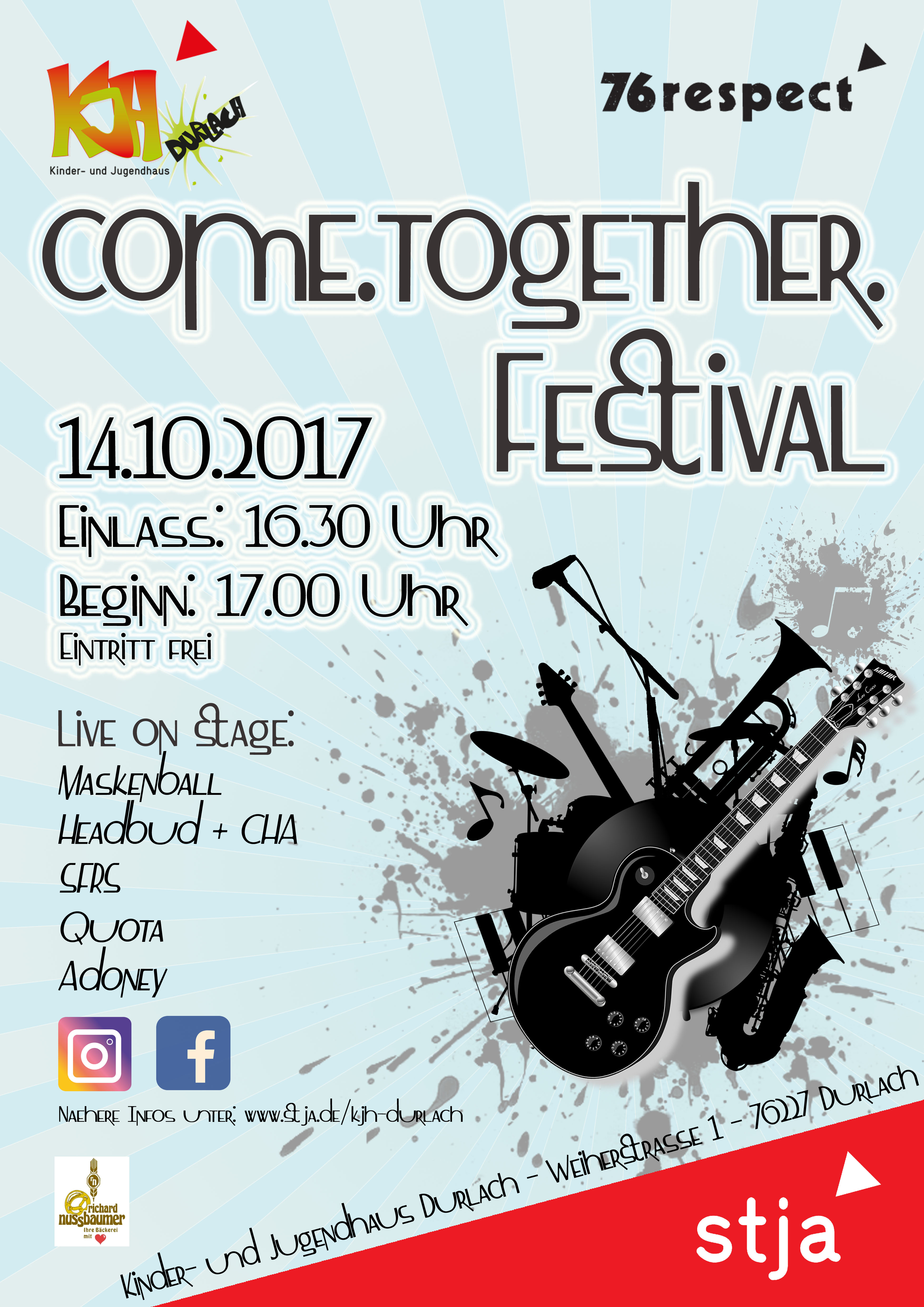 come.together.festival.2017 Plakat
