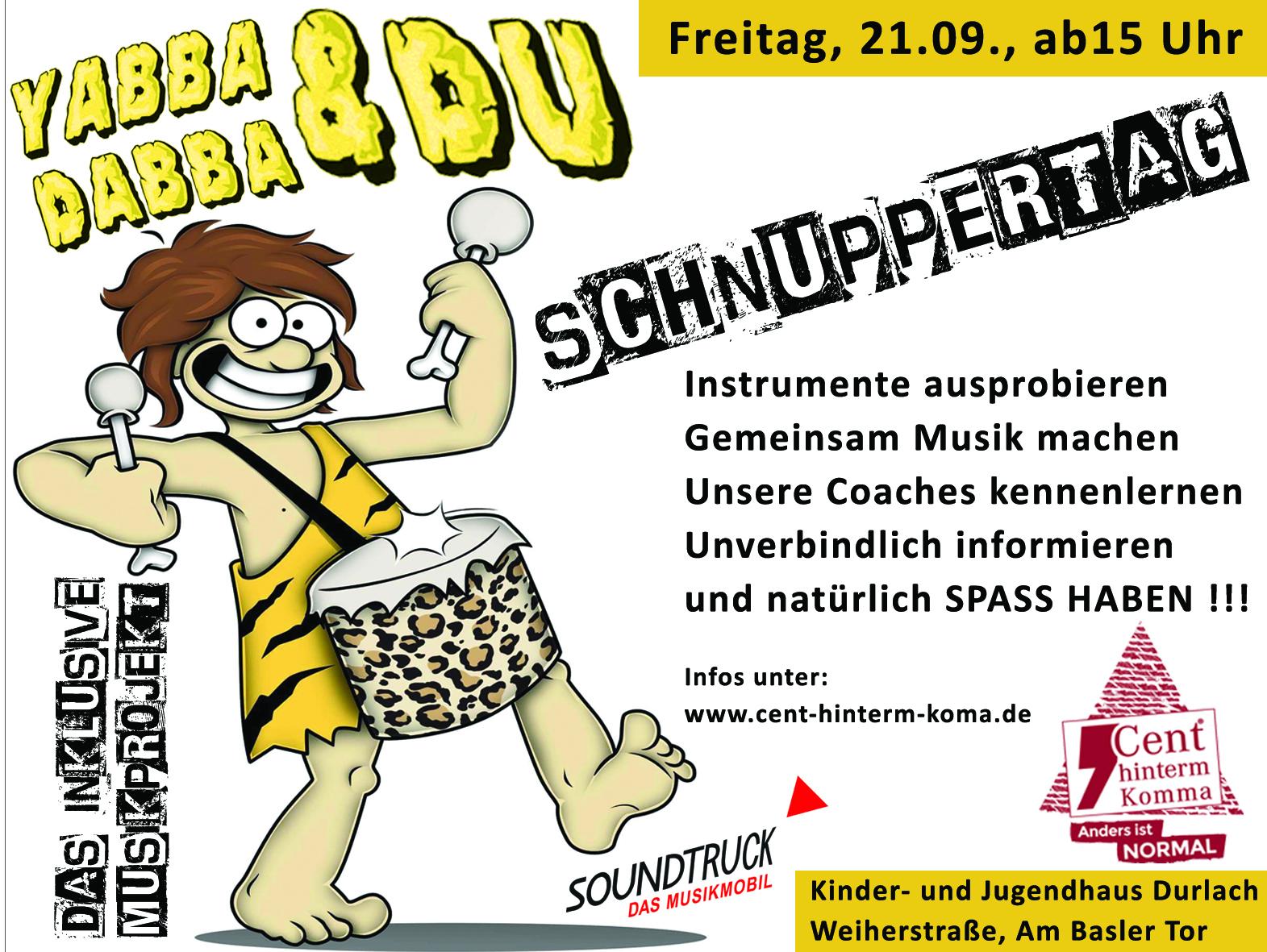 Anzeige Kaki Schnuppertag