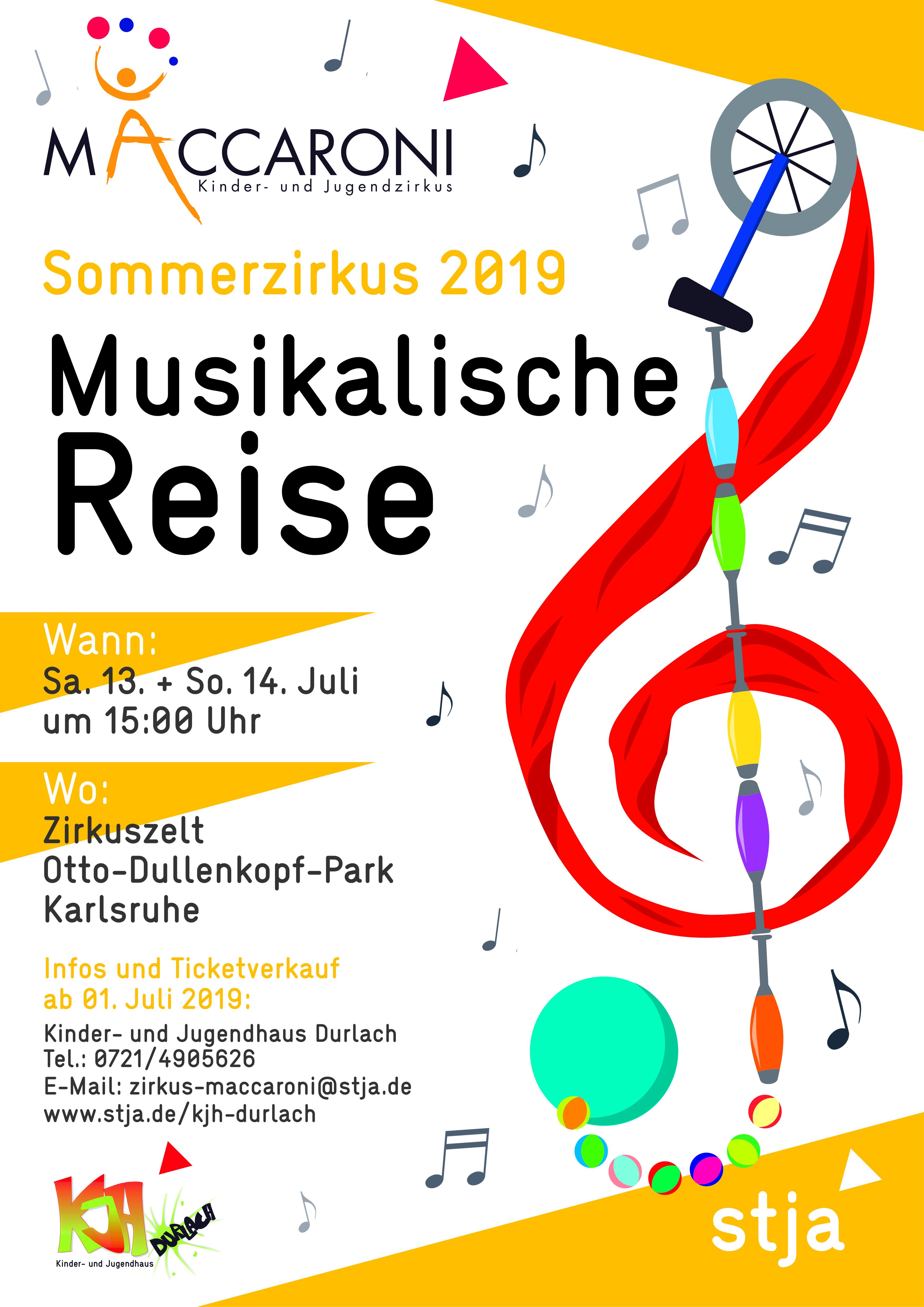 2019_Musikalische Reise_PLAKAT