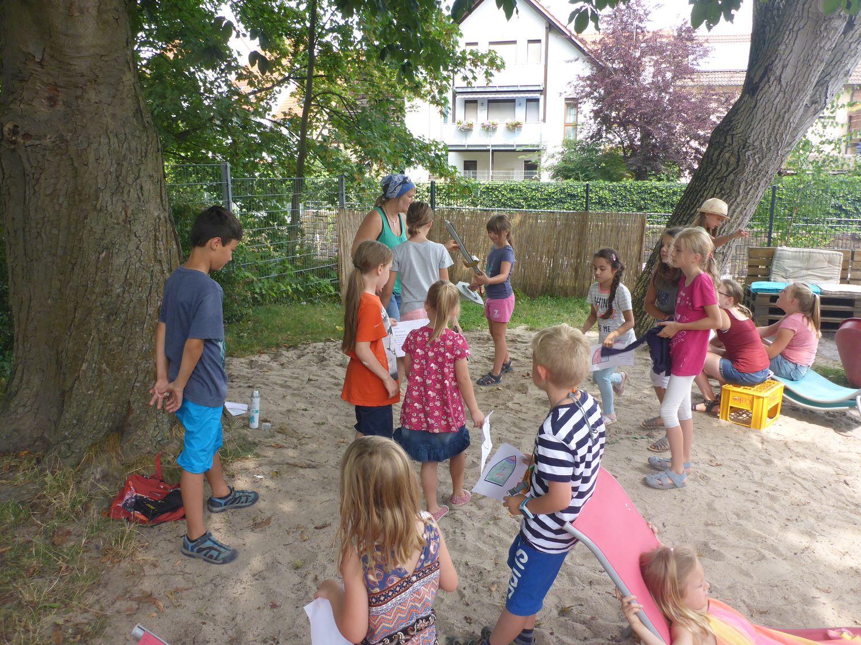 Ferien Sommerferien Kinder Mittelalter 01